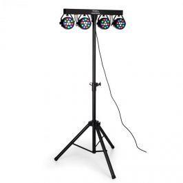 Ibiza DJLIGHT80LED, stativ se čtyřmi 1W RGBW LED PAR reflektory