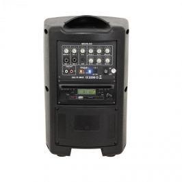 Ibiza MOV8-CD, 150 W, přenosný zesilovací systém, CD, USB, SD, bluetooth, VHF