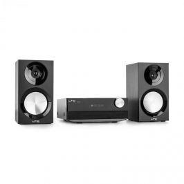 LTC CDM90-BL, černý, mikro Hi-Fi stereo systém, 40 W, bluetooth, USB, CD, FM / AM