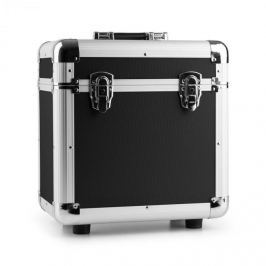 """Power Dynamics RC80, černý, 12"""", hliníkový kufr na desky, pouzdro na vinyly, 80 LP desek"""