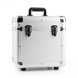 "Power Dynamics RC100, stříbrný, 12"", hliníkový kufr na desky, pouzdro na vinyly, 100 LP desek"