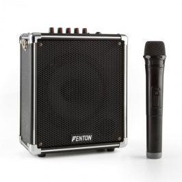 Fenton ST040, přenosný zvukový systém, bluetooth, USB, microSD, MP3, VHF, akumulátor