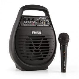 Fenton ST032, mobilní PA systém, 50 W, bluetooth, MP3, USB, microSD, akumulátor, včetně mikrofonu