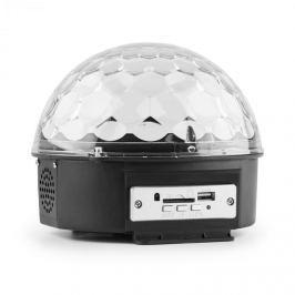 MAX Magic Jelly DJ Ball s MP3 přehrávačem, LED světelný efekt, RGB, ovládání hudbou, USB, SD