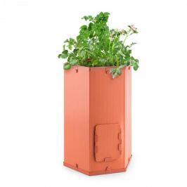 Waldbeck Potatoe-Pro, květináč na pěstování brambor, vysouvatelný kryt sběrného okénka, terakota
