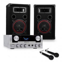 "Electronic-Star DJ Set ""EASY"" zesilovač, repro, mikrofon, 1000W"
