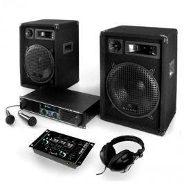 "Electronic-Star Set ""Basstigall"", zesilovač, repro, mikrofon, 1200W"