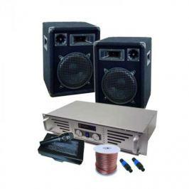 Electronic-Star DJ PA set Rack Star Jupiter Shock, 800 W, rackcase systém