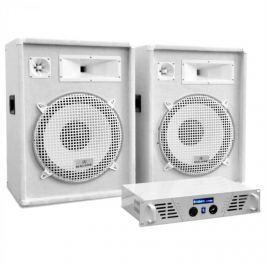 "Electronic-Star DJ set ""Arctic Frost"" z ""White Star Series"", 1600W"