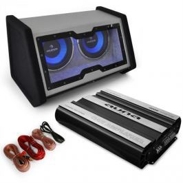 "Auna 0.1 Hi-Fi set do auta ""Basstronaut"", zesilovač, subwoofer"