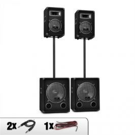 Malone 2.2 PA DJ Sound System Speakers & Subwoofer Set 2200W