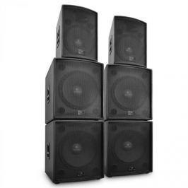 "Malone ""Phidias"", DJ set reproduktorů, 6 dílů 12000W"