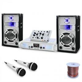 Electronic-Star DJ set Polar fox, mixážní pult, zesilovač, až 1500W