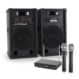 Electronic-Star Zařízení STAR 12, repro, bezdrátový mikrofon, 1200W
