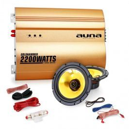 "Auna 2.0 auto hifi set""Golden Race V1"" - 5""repro a 2200W"
