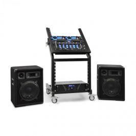 Electronic-Star DJ reproduktorový set Rack Star Neptun Palace 100 lidí