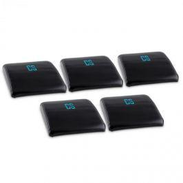 CAPITAL SPORTS Backsill, černý, podložný polštář na procvičování břicha, sada 5 kusů