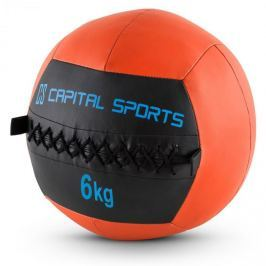 CAPITAL SPORTS Epitomer Wall Ball Set, oranžový, 6 kg, koženka, 5 kusů