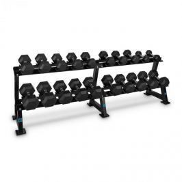 CAPITAL SPORTS Dumbbell Rack Set, stojan na čink(20míst), sada, 10 x pár činek