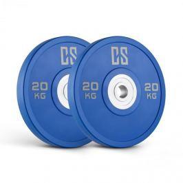 CAPITAL SPORTS Performan Urethane Plates, modré, 20 kg, pár kotoučových závaží