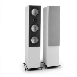 Numana Reference 801c, třícestný stojící reproduktor pár, bílá barva, včetně stříbrných krytů