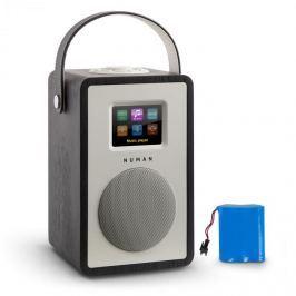 Numana Mini Two Design internetové rádio Wi-Fi DLNA bluetooth FM dub včetně nabíjecí baterie