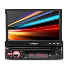 "Auna MVD 310, autorádio s 17,8 cm (7"") dotykovým displejem, bluetooth, USB, SD, FM, přední AV"