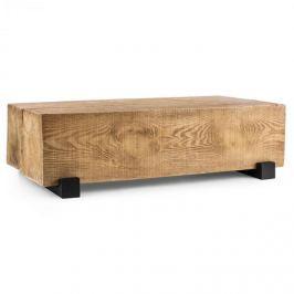 Blumfeldt Port Blockhouse Lounge, hranolový stůl, zahradní stůl, timber-table, 120 x 30 x 60 cm