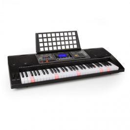 SCHUBERT Etude 450 USB, nácvičný elektronický klavír, 61 kláves, USB-MIDI přehrávač, podsvícené klávesy, černý