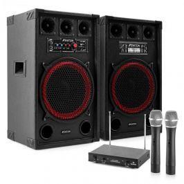 "Electronic-Star Karaoke set ""STAR-Kreuzberg"" PA reproduktory, bezdrátový mikrofon, 800W"