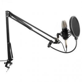 Vonyx Onyx Studio Set velkomembránový mikrofon včetně ramene, pavouka, protivětrné ochraně, kabelu