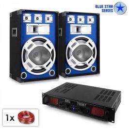 "Electronic-Star PA set Blue Star Series ""Basscore bluetooth"" 1000 W"