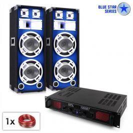 "Electronic-Star PA set Blue Star Series ""Basssound bluetooth"" 1000 W"