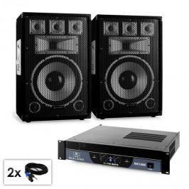 "Electronic-Star PA set Saphir Series ""Warm Up Party"" 12plus II 1500 W"
