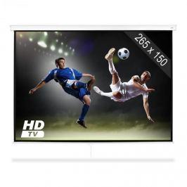 """FrontStage SLS-120 promítací plátno 120 """"265 x 150 cm domácí kino projektor HDTV"""