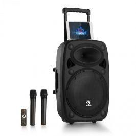 """Auna Streetstar 15 mobilní PA-zařízení 15 """"subwoofer trolley BT USB / SD / MP3 FM AUX"""