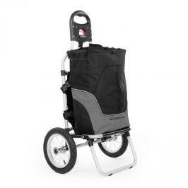 DURAMAXX Carry Grey, cyklovozík, ruční vozík, max. nosnost 20 kg, černá a šedá