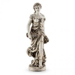 Blumfeldt Ceres socha, ruční výroba, 1,2 m, sklolaminát-MgO, vzhled přírodního Alabaster