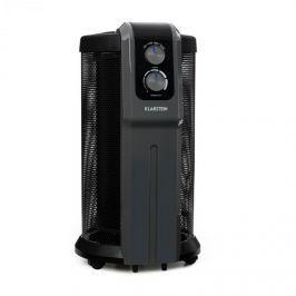 Klarstein Datscha Analog, 360 ° žárový ohřívač, termostat, radiální vyhřívání, 2000W, černý