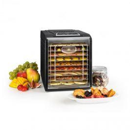 Klarstein Fruit Jerky 9 sušička ovoce, časovač, 9 poliček, 600–700 W, černá barva