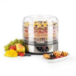 Klarstein Fruitower D sušička ovoce, 35–70 °C, časovač, 5 poliček, 200–240 W, ušlechtilá ocel