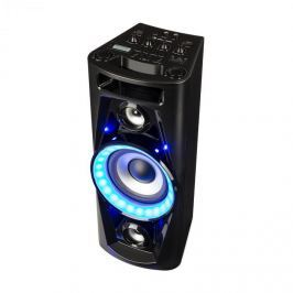 Auna PPS 35, audio systém, mobilní reproduktor, baterie, BT, USB, MP3, AUX, FM, kytarový vstup, LED, mikrofon