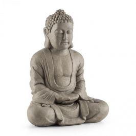 Blumfeldt Siddhartha socha, 60 cm, sklolaminát cement, vzhled přírodního kamene