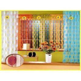 Forbyt  Záclona ADA   provázková  150 x 250 cm sv. hnědá