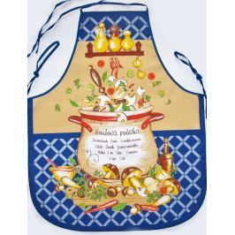 Forbyt  Zástěra a chňapka, Hřibová polévka, modrá