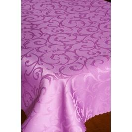 Forbyt  Ubrus s nešpinivou úpravou, žakarový, fialový pr.155 cm