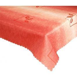 Forbyt, Ubrus s nešpinivou úpravou, Duha červená pr.140 cm