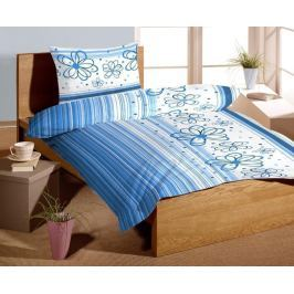 Forbyt Povlečení bavlna exklusive Florida blue 140 x 200 cm + 70 x 90 cm