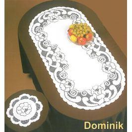 Forbyt, Ubrus Krajkový, žakárový Dominik, ovál, 120 x 155 cm