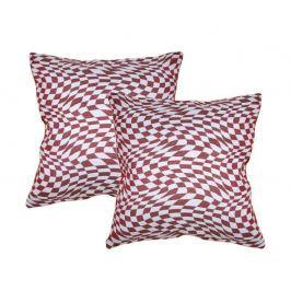 Forbyt  Návleky na polštář, Eva, červená, 43 x 43 cm